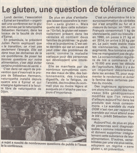 article presse gluten.fw
