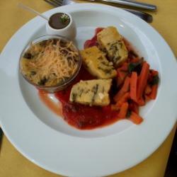 plat sauvage et gastronomique