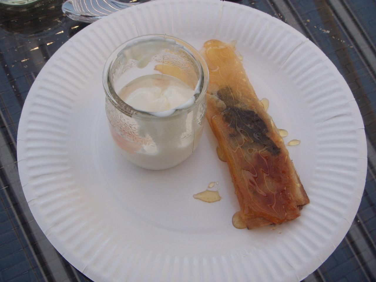 Dessert au saveurs nature